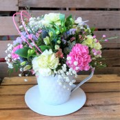 Teacup Arrangement - Temporarily OUT OF STOCK