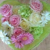 Romantic Heart bouquet